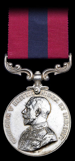 Cambridgeshire Regiment Great War Medals, DCM