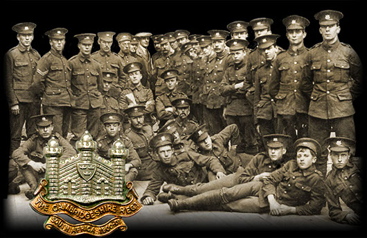 Men of the Wisbech Coy, Cambs Regt. August 1914